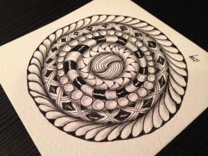Zentangle® es un sencillo y divertido método artístico