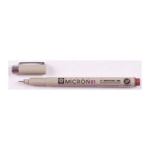 Micron 01 marrón