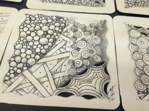 Curso Zentangle dia 19 de julio 2014