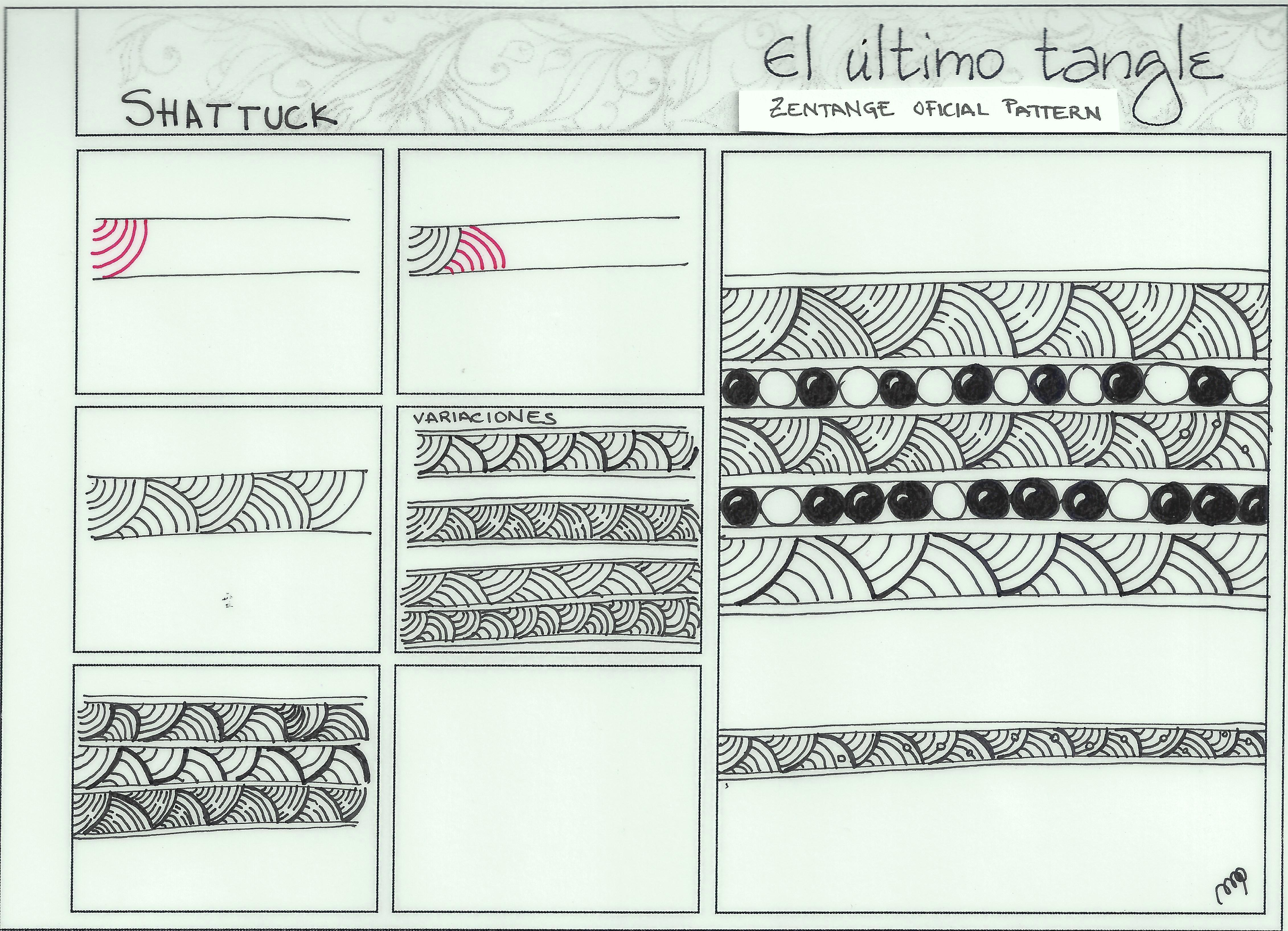 El Ultimo Tangle El Ultimo Tangle Pagina 3 De 4 Zentangle En Espanol