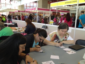 Zentangle en Creativa 2014 Madrid