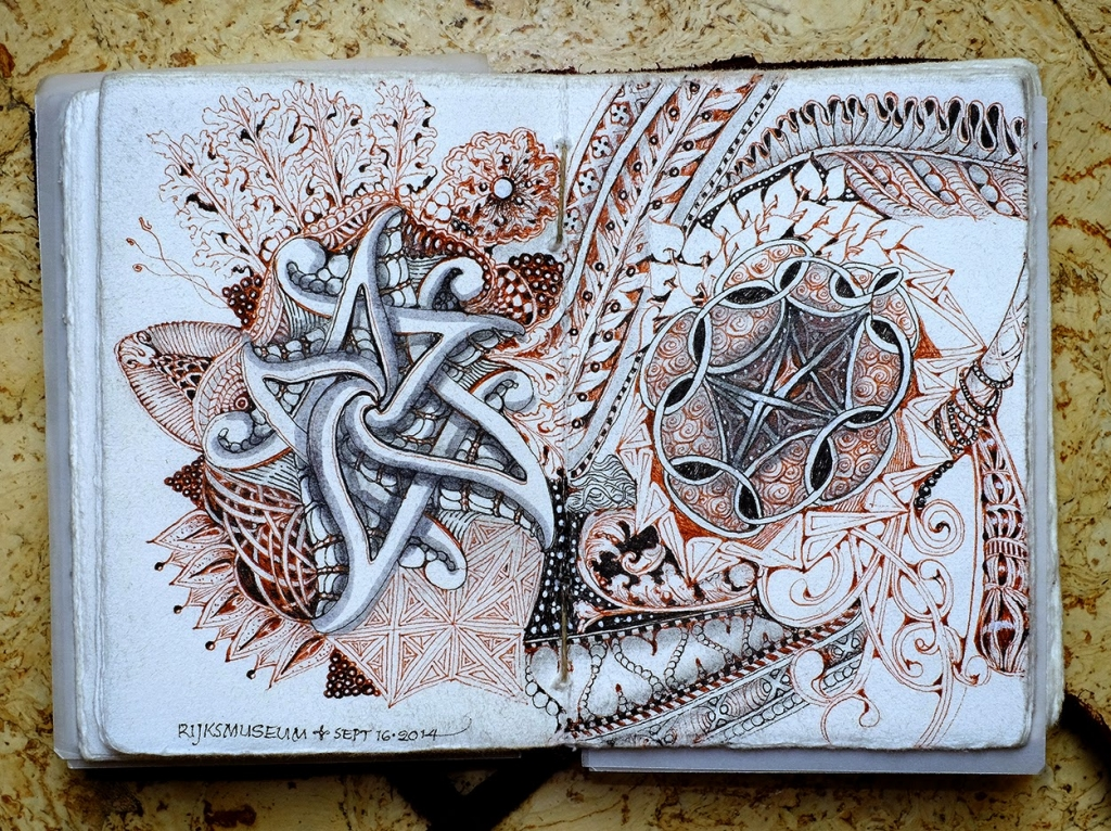 Zentangle® en Amsterdam