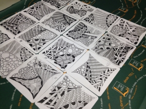 taller de Zentangle