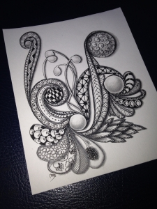 Zentangle de vuelta