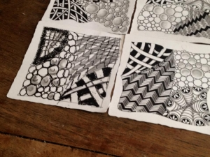 Historias alrededor de Zentangle