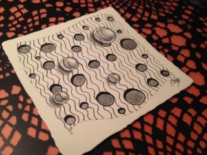 Zentangle en la radio